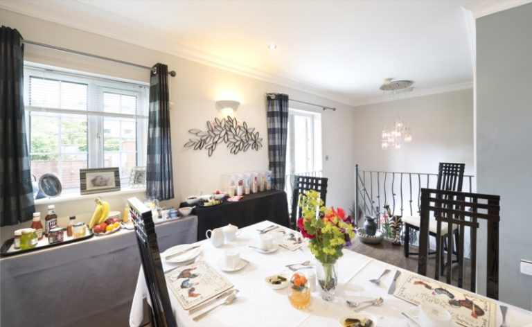 The Breakfast Room at Blossom House